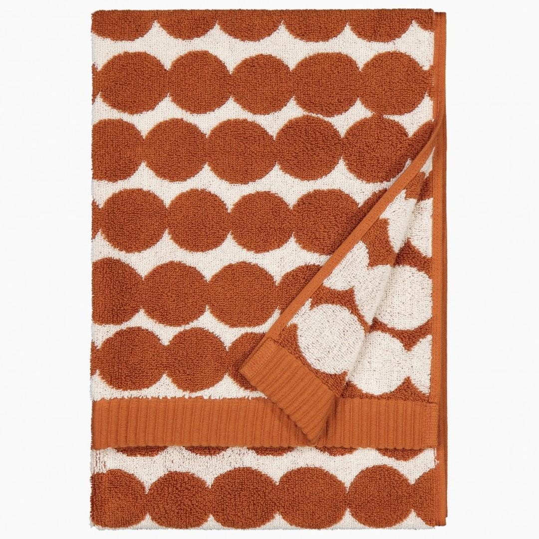 Marimeko Räsymatto Hand Towel Chestnut