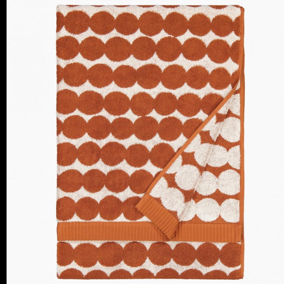 Marimekko Räsymatto Bath Towel Chestnut