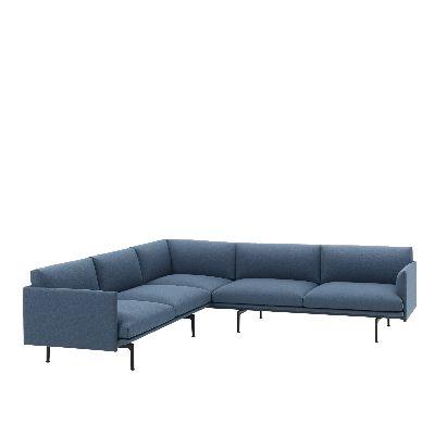 muuto outline corner sofa