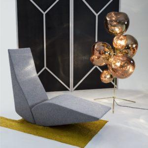 Bird Chaise Tom Dixon furniture contemporary designer