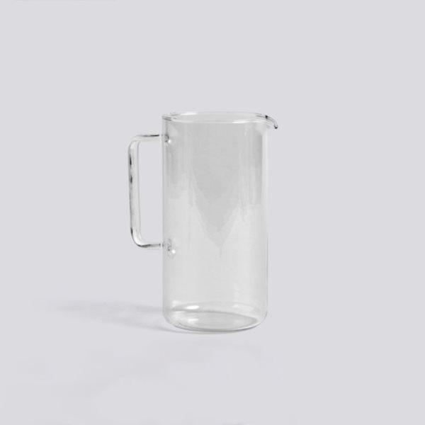 Glass Jug L 2L HAY contemporary design homeware kitchenware