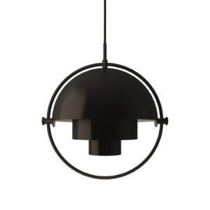 Multilite Black Brass Gubi lighting contemporary designer
