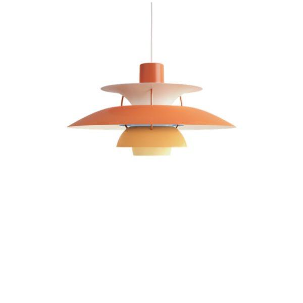 Louis Poulsen PH5 Pendant Hues of Blue Contemporary Designer Lighting