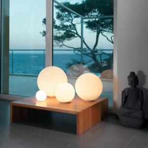 Artemide Dioscuri Table Lamp Lifestyle