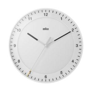 Braun Analogue Wall Clock - White