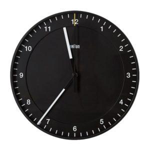 Braun Analogue Wall Clock - Black