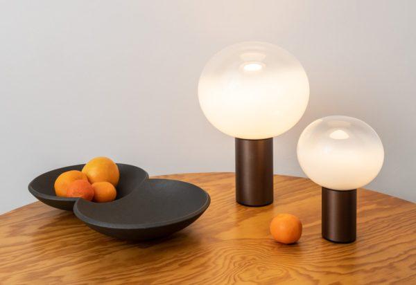 Artemide Laguna table lamp bronze lifestyle