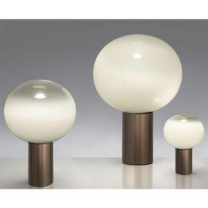 Artemide laguna table lamp brass