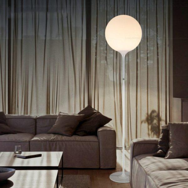 artemide castore terra floor lamp