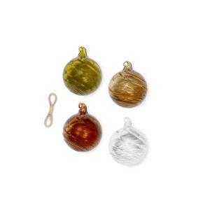 ferm living twirl christmas ornaments