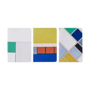 MoMA de stijl notebook set of 3