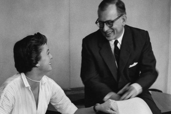 Florence Knoll and Eero Saarinen